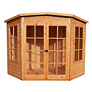 Shire 7x7 Pent Shiplap Wooden Summer house