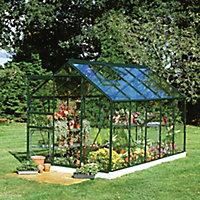 B&Q 6x10 Horticultural glass Apex Greenhouse