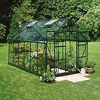 B&Q 8x10 Horticultural glass Apex Greenhouse
