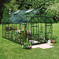 B&Q 8x10 Toughened glass Apex Greenhouse