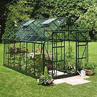 B&Q 8x14 Toughened glass Apex Greenhouse