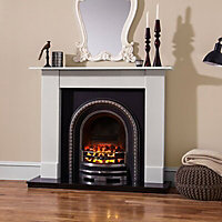 Aurora Dorchester Black Electric fire suite
