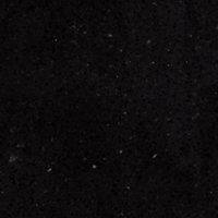 40mm Cosmic Black Quartz 3 piece Worktop, (L)3300mm