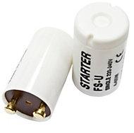 B&Q White Starter Switch