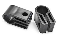 B&Q Black 1.5mm Cable clips, Pack of 25