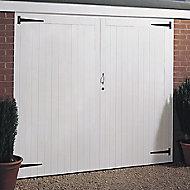 Side hung Garage door pair, (H)1981mm (W)2134mm