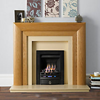 Modena Beaumont Brown Fireplace surround set
