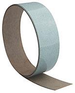 Gloss Cracked glass effect Worktop edging tape, (L)1500mm