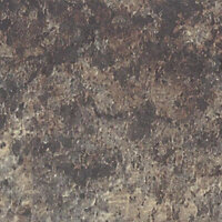 B&Q Jamocha Brown Laminate Splashback, (H)600mm (W)3050mm (T)9mm