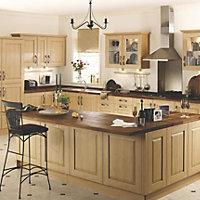 IT Kitchens Classic Chestnut Style Belfast sink Cabinet door (W)600mm