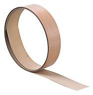 Matt Beech effect Natural Worktop edging tape, (L)3m