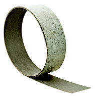 White Cashmere Stone effect White Worktop edging tape, (L)3000mm