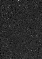 B&Q Quarstone Black Quartz effect Laminate Splashback, (H)600mm (T)9mm