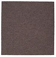 Colours Brown Loop Carpet tile, (L)50cm