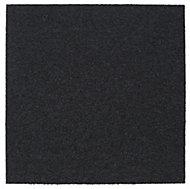 Colours Graphite Loop Carpet tile, (L)50cm
