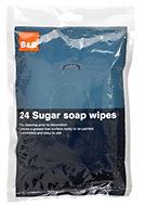 B&Q Sugar soap wipes, pack of 24