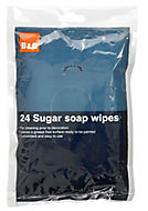 Unscented Sugar soap Wipes, Pack of 24