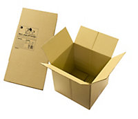 B&Q Brown Cardboard Storage box