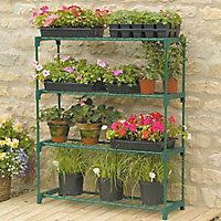 4 tier Greenhouse shelving