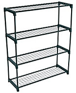 4 tier Greenhouse shelving