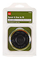 B&Q Spool & line To fit Performance Power models (T)1.5mm