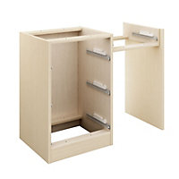Cooke & Lewis Maple effect Dressing table (H)747mm (W)925mm (D)578mm
