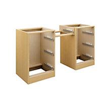 Cooke & Lewis Oak effect Dressing table (H)747mm (W)1360mm (D)578mm