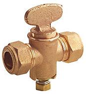 Plumbsure Compression Gas cock & fan key (Dia)15mm