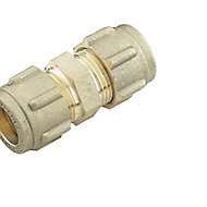 Plumbsure Compression Straight Coupler (Dia)12mm