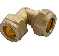 Plumbsure Compression Elbow (Dia)15mm