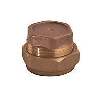 Plumbsure Compression Stop end (Dia)15mm