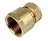 Plumbsure Compression Straight Coupler (Dia)22mm