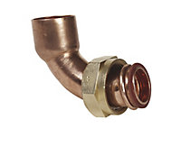 End feed Bent tap connector (Dia)15mm