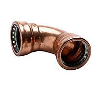 Plumbsure Push fit Elbow (Dia)22mm