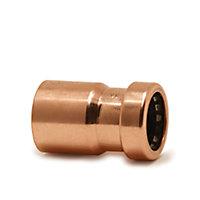 Plumbsure Push fit Socket reducer (Dia)22mm