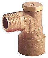 Plumbsure Copper Elbow bayonet (Dia)12.7mm