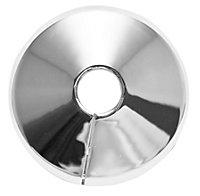 Plumbsure M443CQV3 PVCu Chrome effect Pipe collar (Dia)10mm, Pack of 5