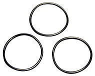 Plumbsure Rubber Push fit O ring, Pack of 3