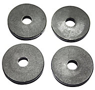 Plumbsure Rubber Tap Washer, Pack of 4