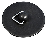 Plumbsure Rubber Sink & bath plug (Dia)40mm