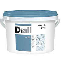 Diall Grey Ready mixed Floor tile Grout, 3.75kg