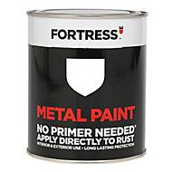 Fortress White Gloss Metal paint 250 ml