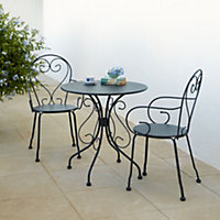 Flores Metal Table & chair set