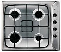 Indesit BIMS53KABIX, PIM640ASTIX, IHC6.5FAMIX Stainless steel Electric Oven, hob & cooker hood pack