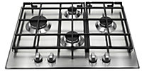 Hotpoint GB641X, SBS638CXS, HDA6.5AB Stainless steel Oven, hob & cooker hood pack