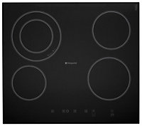 Hotpoint CRA641DC, SBS638CXS, HDA6.5AB Stainless steel Oven, hob & cooker hood pack