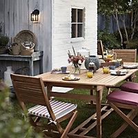 Roscana teak Wooden 6 seater Dining set