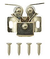 Brass-plated Carbon steel Double roller catch