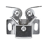 Chrome-plated Carbon steel Double roller catch
