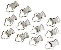 05094493 CS-CURTAIN PINCER CLIPS SATIN SILVER EFF